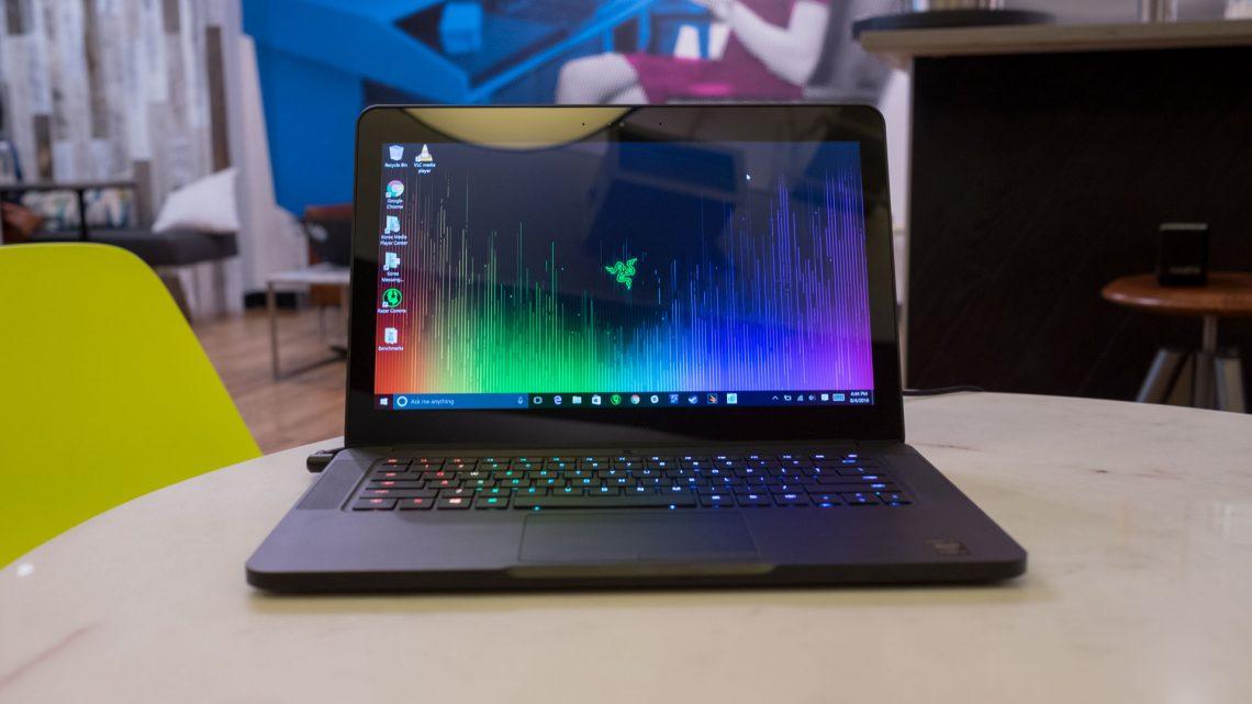 Razer-Blade-14 touchscreen gaming laptop