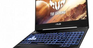 laptop with backlit keyboard