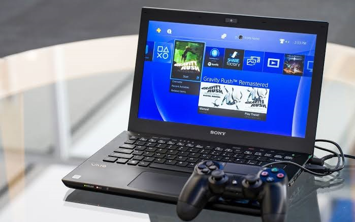 how to connect ps4 with laptop with hdmi